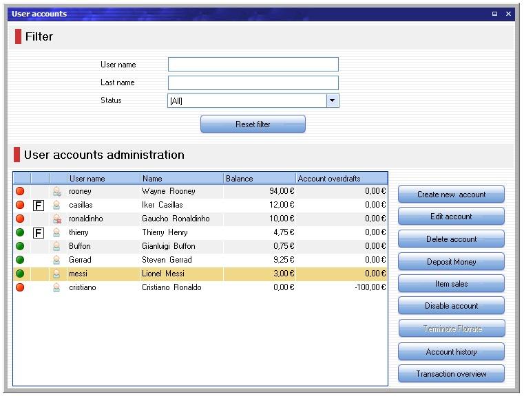 My CyberCafe screenshot